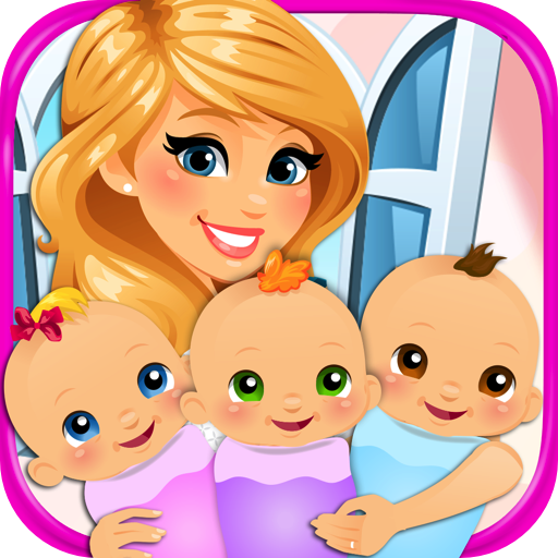 Newborn Triplets - Newborn Baby & Mommy Pregnancy Games FREE (Free Elsa Games compare prices)