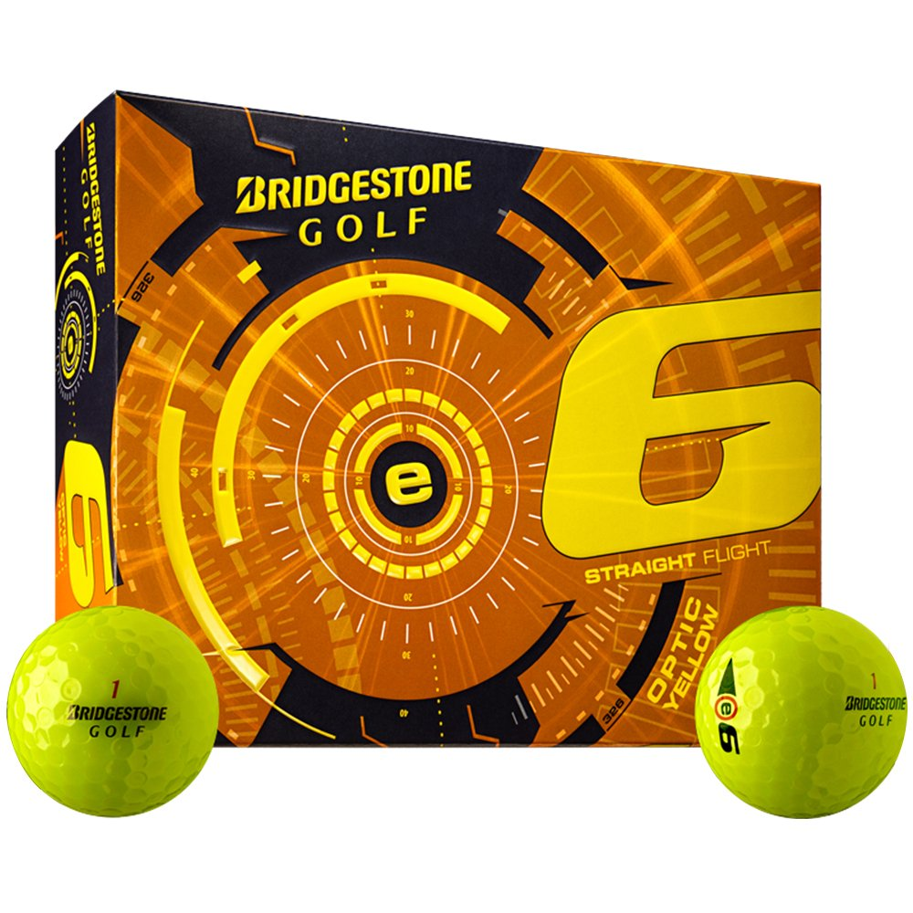 Bridgestone 2015 E6 White Golf Balls 12-Ball Pack caiton 12pcs pack three four five layer golf balls golf standard game balls