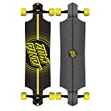 Santa Cruz Impact Drop Down Cruzer Complete Skateboard, Assorted, 40in