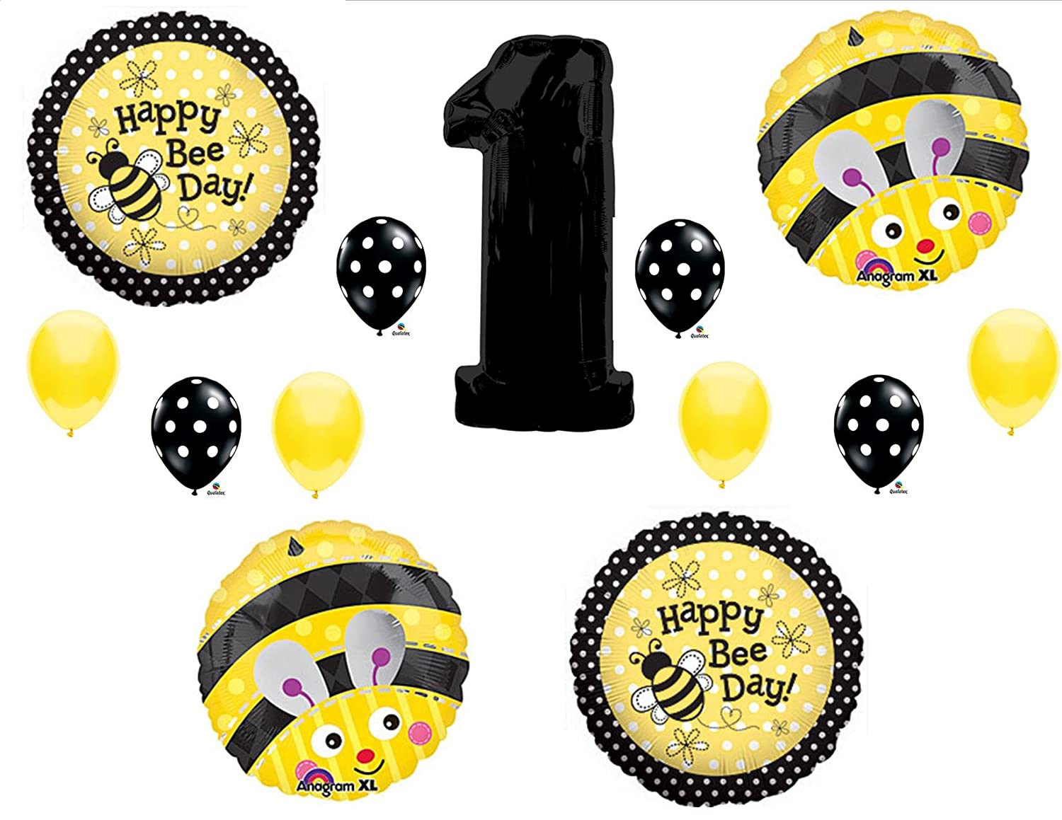 Bumble Bee 1st Birthday Supplies
