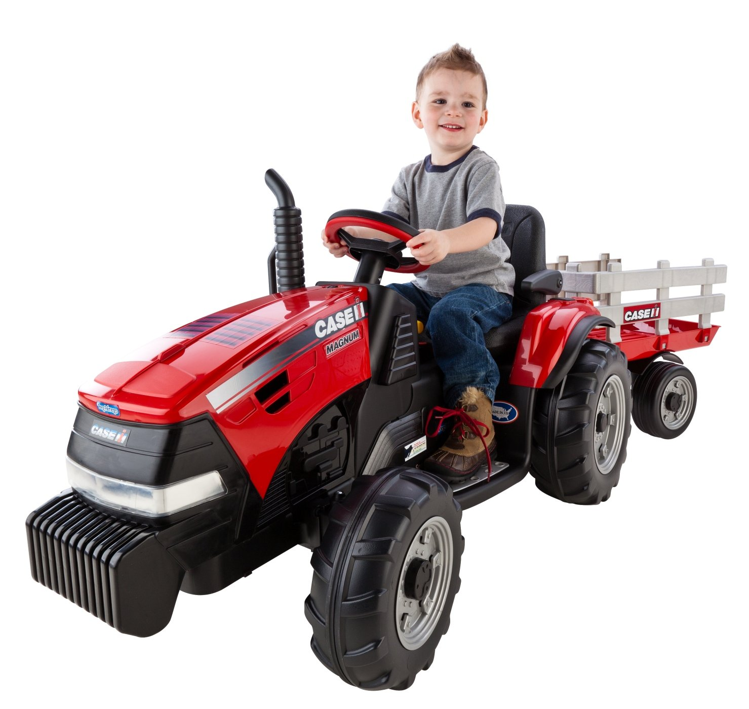 Peg Perego Case IH Magnum Tractor/Trailer