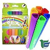 Tyi Artline Stix Drawing Pens - Set of 16 Assorted Colors