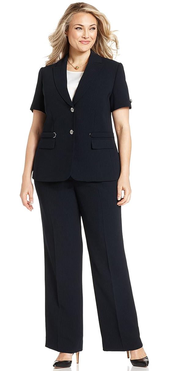 Tahari Women's Peter Jess English Manor Pant Suit