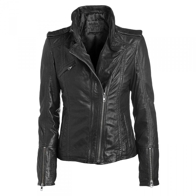 Rockstars & Angels Bambi Rock Women Lederjacke schwarz jetzt bestellen