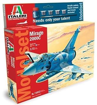 Italeri - I71012 - Maquette - Aviation - Set Mirage 2000c