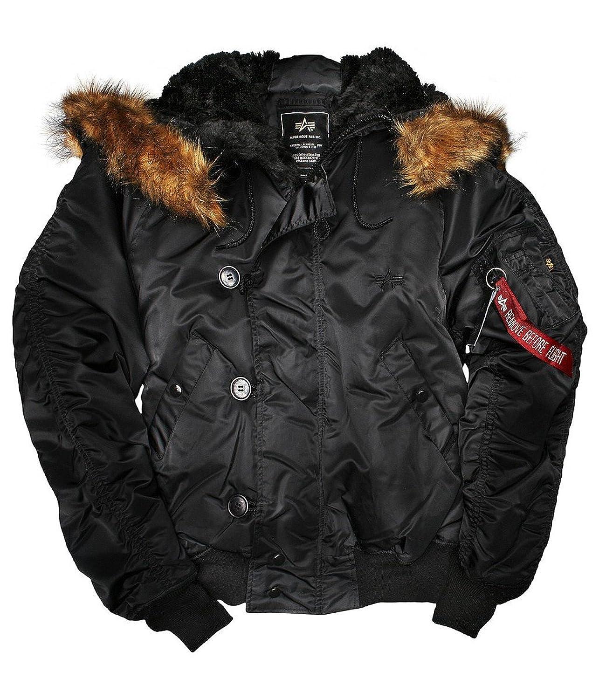 Alpha Industries Herren Winterjacke N2B schwarz günstig online kaufen