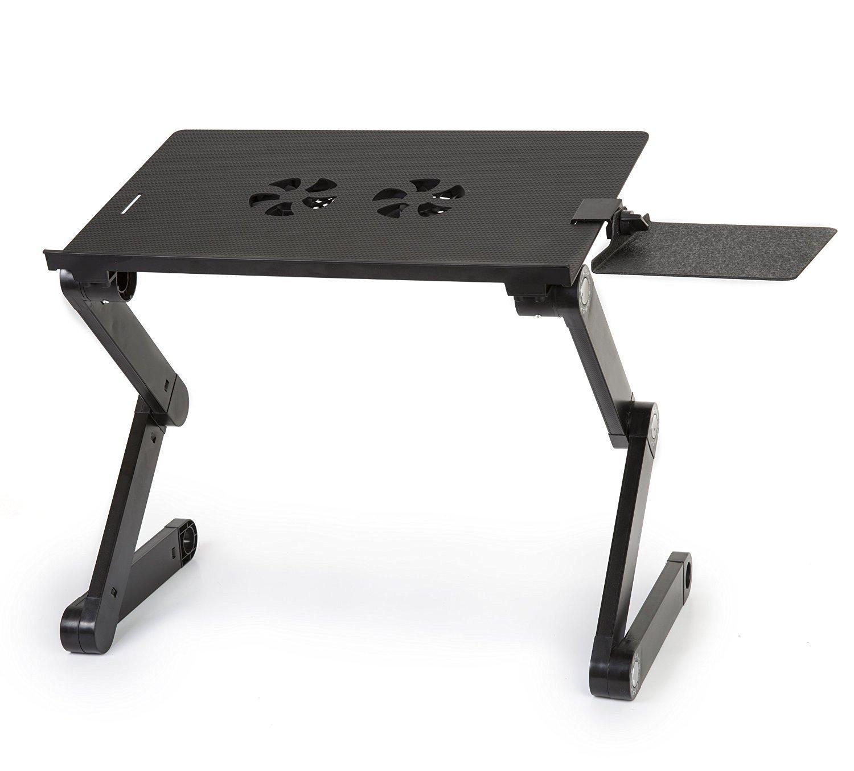 Laptop Side Table 50 30cm Wood Laptop Table Lazy Bedside