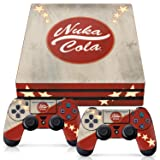 Controller Gear Officially Licensed Console Skin Bundle for PS4 Pro - Fallout - Nuka Cola