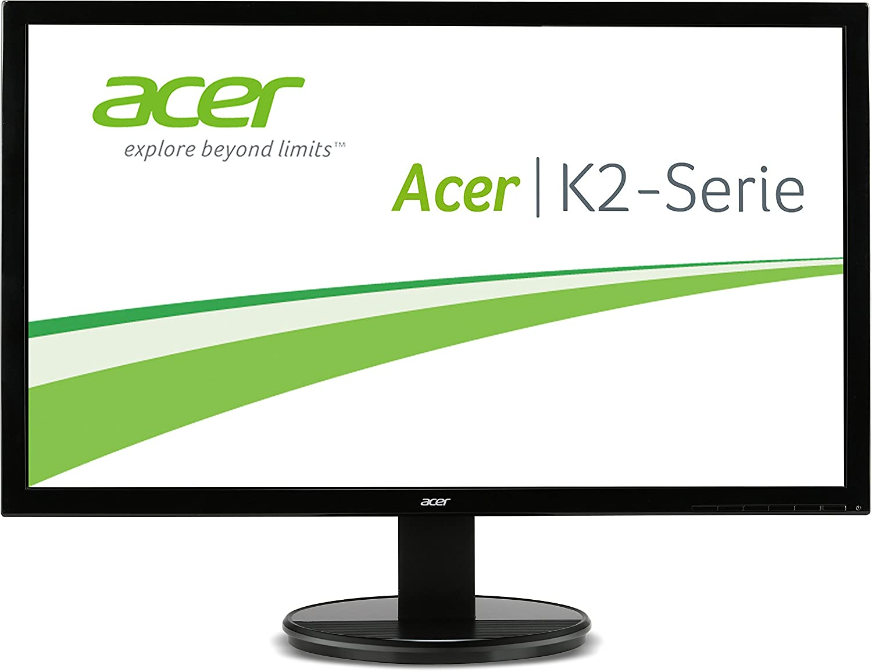 Acer K242HQLBbid 60 cm (23,6 Zoll) Monitor (VGA, DVI, HDMI, 5ms Reaktionszeit, Full HD, EEK A) schwarz