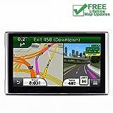 GPS for Car, 7 inches 8GB Lifetime Map Update Spoken Turn-to-Turn Navigation System for Cars, Vehicle GPS Navigator, SAT NAV (Color: Model X)