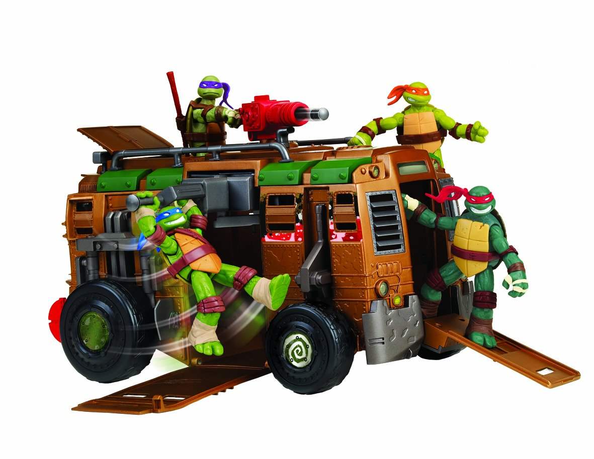 Tortugas ninja shell raiser vehicle juguetes comentarios - Vehicule tortue ninja ...