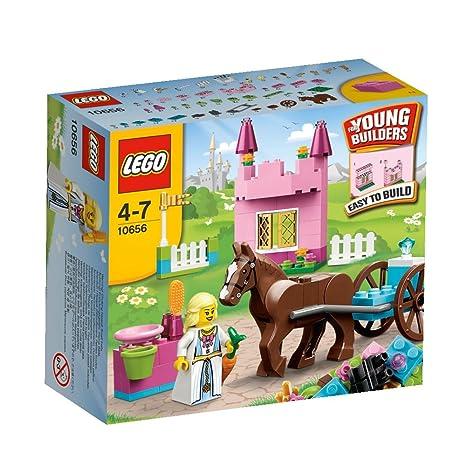 LEGO Briques - 10656 - Jeu de Construction - Mon Premier Ensemble - Princesse