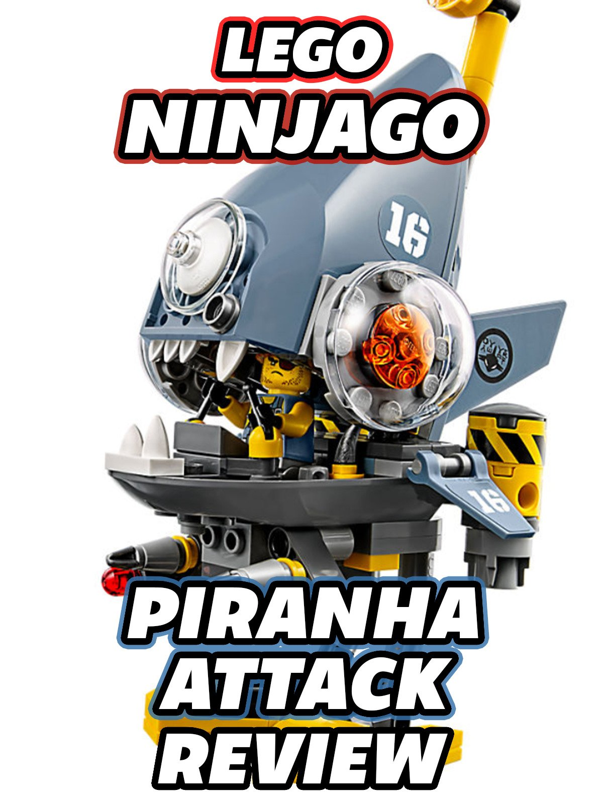 Clip: Lego Ninjago Piranha Attack Review