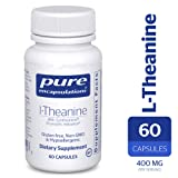 Pure Encapsulations - l-Theanine - Hypoallergenic Supplement Promotes Relaxation and Helps Moderate Occasional Stress* - 60 Capsules (Tamaño: 60 Count)