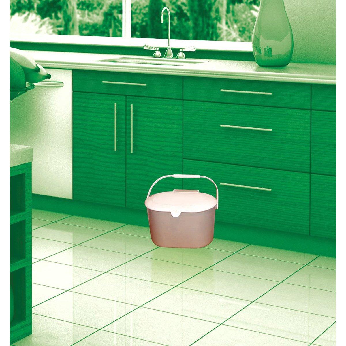 Glad OdorShield Small Kitchen Compostable Trash Bags, 2.6