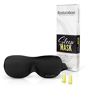 Restoration<sup>®</sup> Contoured Sleep Mask and Moldex<sup>®</sup> Ear Plugs width=