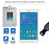 VIMVIP Samsung Galaxy Tab Pro 8.4 [Tempered Glass Screen Protector] 0.3mm Thickness Tempered Glass Screen Protector for Samsung Galaxy Tablet Pro 8.4 (Color: Galaxy Pro Tab 8.4)