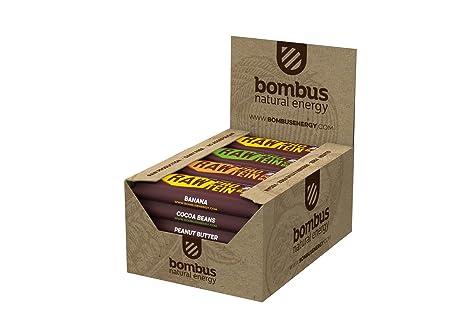 Bombus Rohkostriegel Raw Protein -Erdnussbutter-, 20x 50g