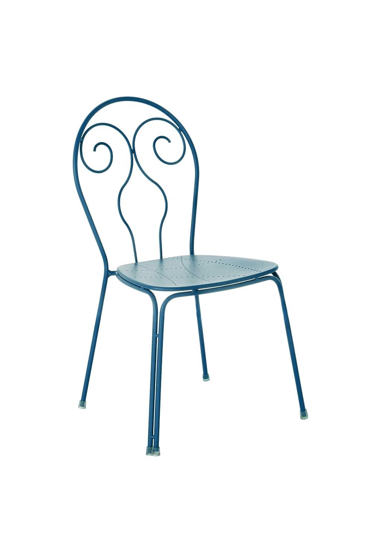 Emu 309306100 Caprera Stuhl 930, pulverbeschichteter Stahl, 4-er Set, petrolblau online kaufen