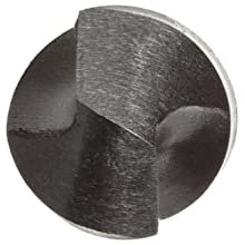 Cleveland 2002 Style High Speed Steel Jobbers' Drill Bit, Uncoated (Bright), Round Shank, 118 Degree Conventional Point