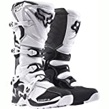 Fox Racing Comp 5 Men's Off-Road Motorcycle Boots - White / Size 10