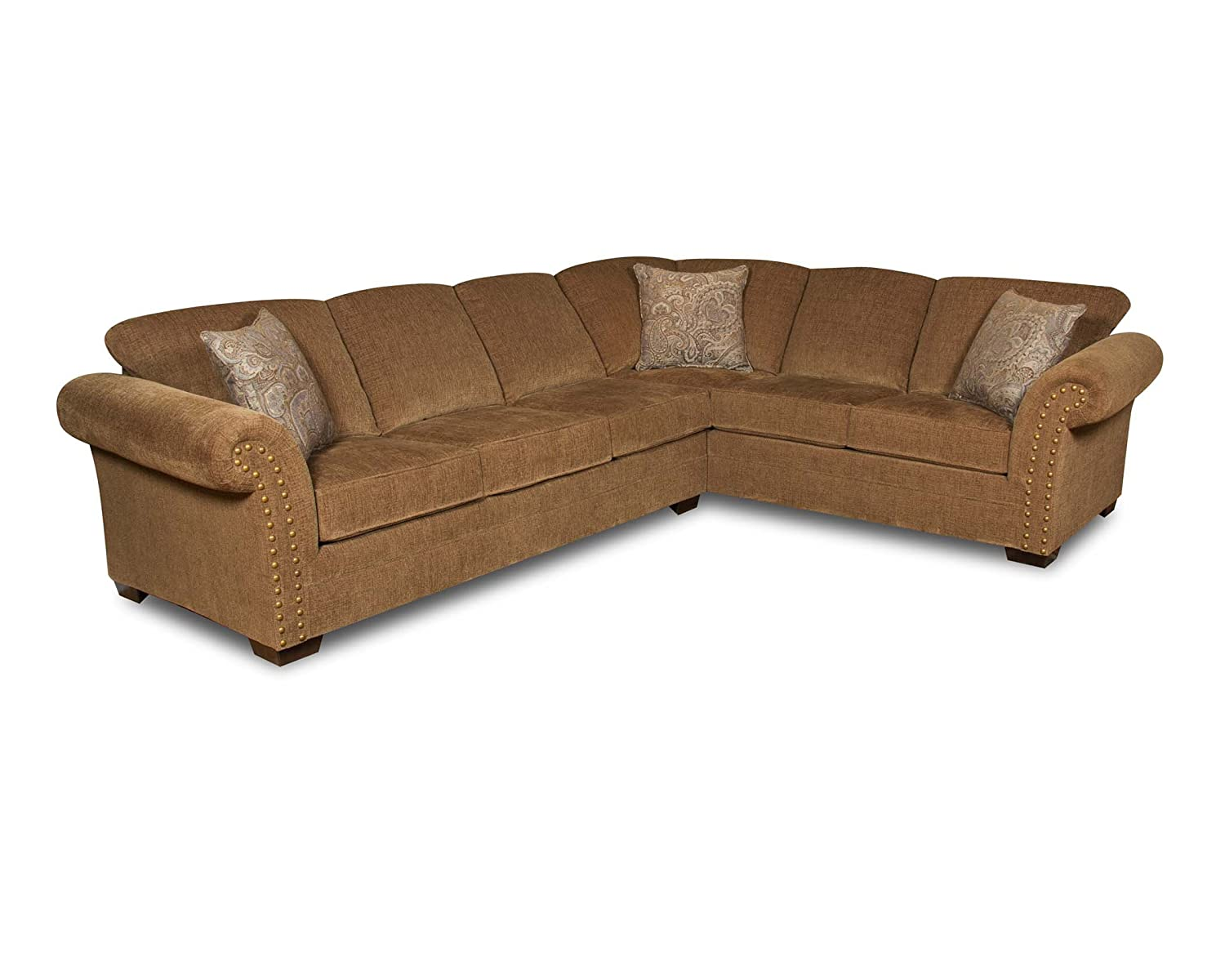 Simmons Upholstery Atmore Sectional Sofa - Atmore Putty