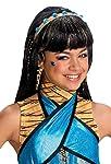 Rubie's Costume Co Rubies Monster High Cleo de Nile Girls Wig