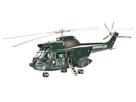 Revell - 04412 - Maquette - SA330 Puma - Bundespolizei