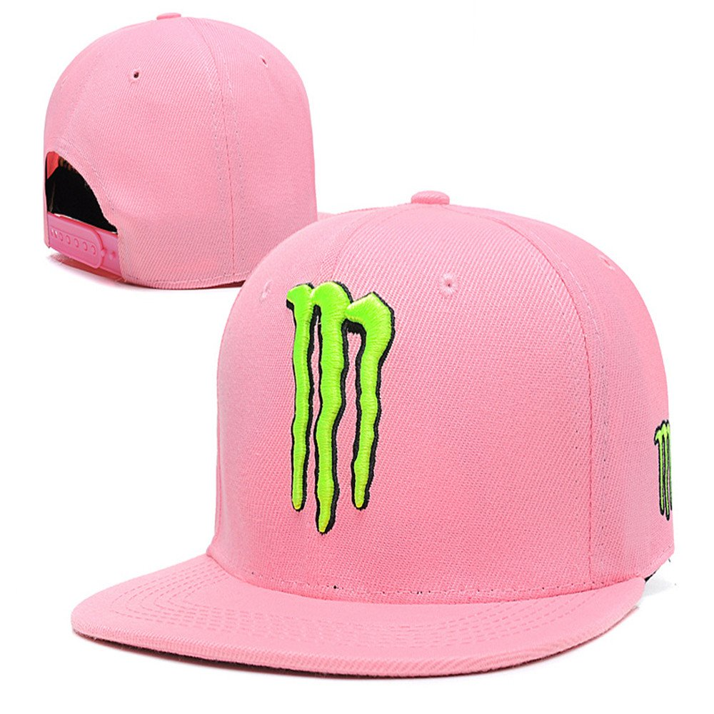 Pink Monster Claw Logo Snapback Hat