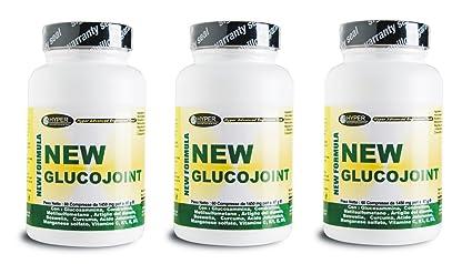 3 Packungen mit 60 Tabletten - 87 Gramm (fur insgesamt 180 Tabletten -261 Gramm) Glucosamin , Coindritin Sulfat, MSM (Methyl Sulfonyl Methan) , Teufelskralle , Boswellia , Kurkuma, Hyaluronsäure reduzieren Gelenkschmerzen, Arthritis, naturliche Entzu