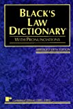 Black's Law Dictionary: Definitions of the Terms and Phrases of American and English Jurisprudence, Ancient and Modern