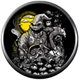Oogie Boogie Moon Halloween Town Nightmare Before Christmas Jack Skellington 18MM - 20MM Charm for Snap Jewelry (Color: Multi)