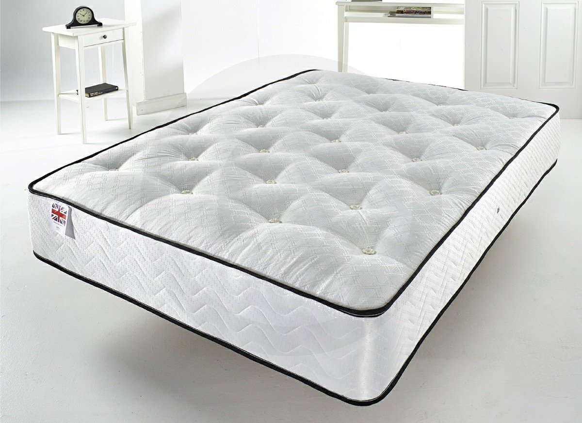 Tufted Comfort Support Mattress with body support layer