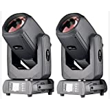 Roccer 2 pack Moving Heads Light Sharpy Beam For Stage Light (7R 260W) (Color: 10R 260W)