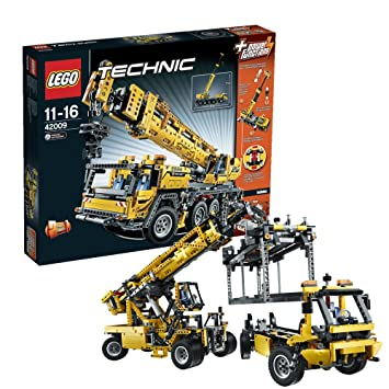 Lego Technic - 42009 - Jeu de Construction - Grue Mobile MK II