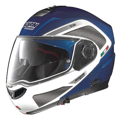 Nolan n104 casque de moto evo tech n- com casque à visière