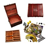 Keene/Fx Harry Potter Fan's - Wizard's Monopoly Plus Trunk and Tray (Color: Wood)