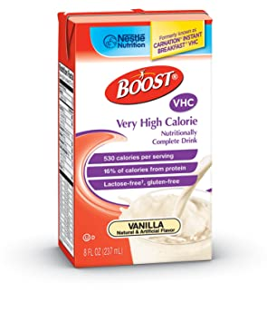 Boost VHC very high calorie complete nutritional drink - 8 oz, 27 ea