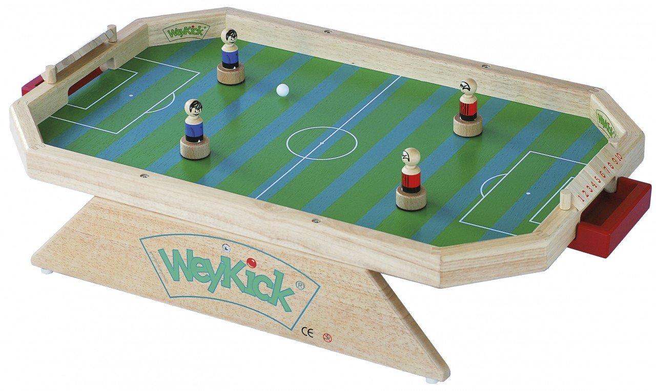 Tisch-Fußballspiel, grün für 2 – 4 Spieler von WeyKick günstig
