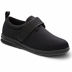 Dr. Comfort Carter Men's Therapeutic Diabetic Extra Depth Shoe Lycra Velcro