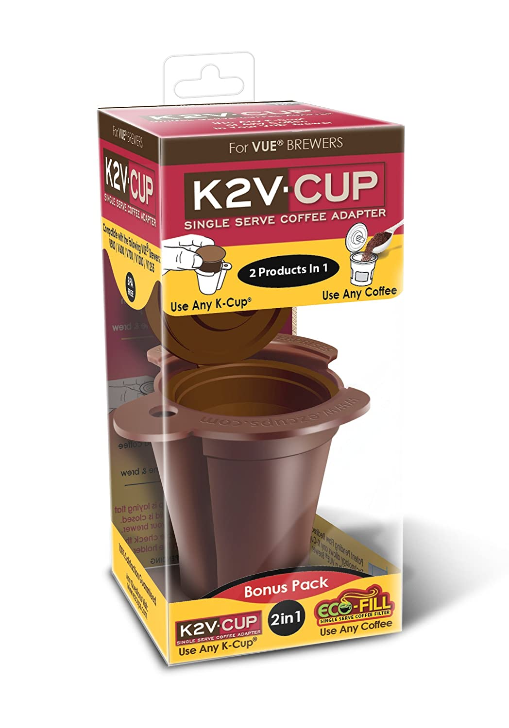Brand New K2v Cup For Keurig Vue Brewers Works With V500