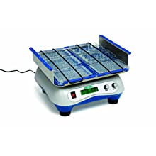 Heathrow Scientific HEA4010A Sea Star Multi-purpose Digital Orbital Shaker with Varying Speed Adjustments, 100 to 240 VAC, 20 to 300 rpm, 4.5kg Load Rating, 4 to 40 Degree C