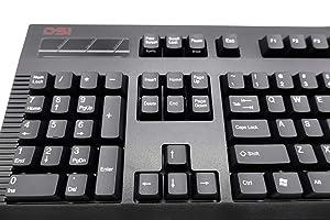 DSI Left-Handed Keyboard, Black (KB-DS-8861XPU-B-V2) (Color: Black)