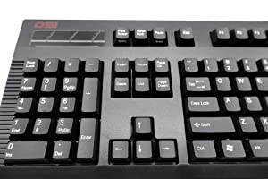 DSI Left-Handed Keyboard, Black (KB-DS-8861XPU-B-V2) (Color: Black)