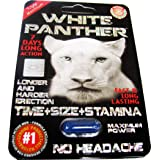 #1 White Panther Strong Man Stamina Enhancement Pill 6 Pills (1)