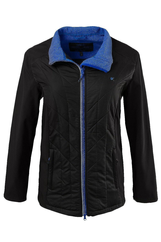 Ulla Popken Damen Softshell-Jacke Hybrid 701370 große Größen