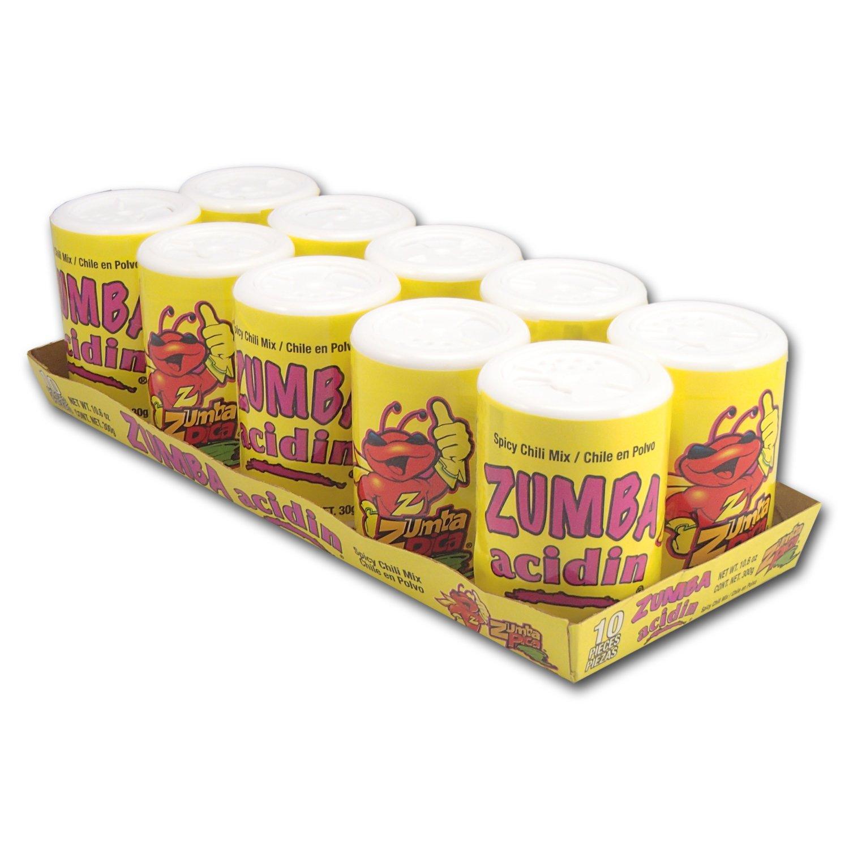 купить Zumba Acidin, Spicy Chili Mix, 1.06oz, 10-Count дешево