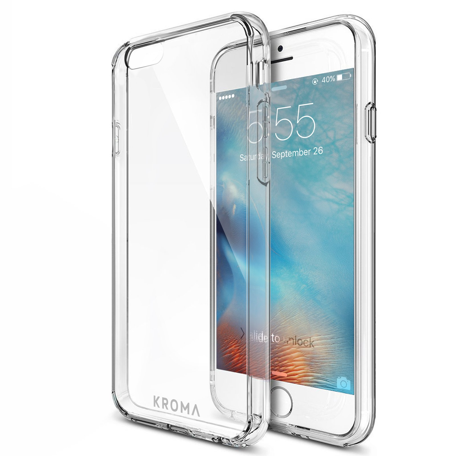 Iphone 6S Case Kroma? [Primatic Series] Crystal Clear Iphone 6 And 6S Case 99.. 10
