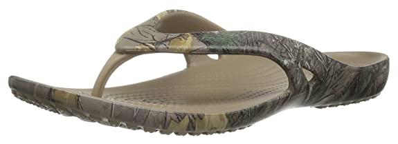 crocs Women's Kadee Ii Realtree Xtra W Flip Flop at amazon