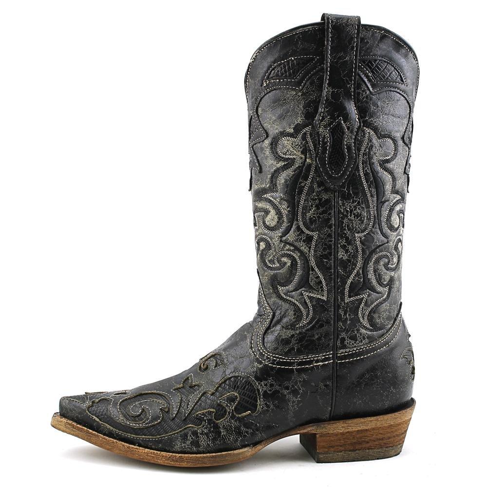 Corral Men's Vintage Lizard Inlay Cowboy Boots 3